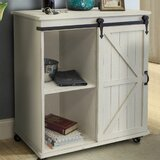 Savoie Solid Wood Kitchen Cart by Gracie Oaks
