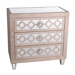 Latitude Run Carl 3 Drawer Accent Chest