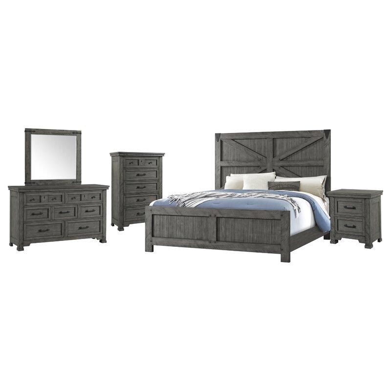 Gracie Oaks Tandy Standard Configurable Bedroom Set Reviews Wayfair