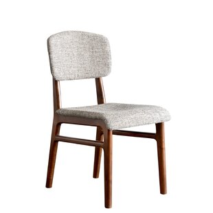 Karla Mid Century Modern Upholstered Dining Chair (Set of 2)