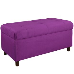 Read Reviews Premier Upholstered Storage Bench By Alcott Hill