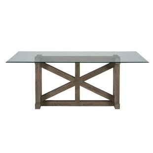 Gracie Oaks Abram Trestle Dining Table