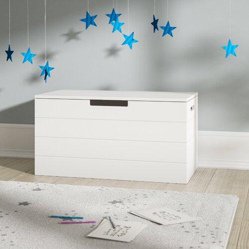 Spielzeugtruhe | Kinderzimmer > Spielzeuge > Spielzeugkisten | Weiß | Woood