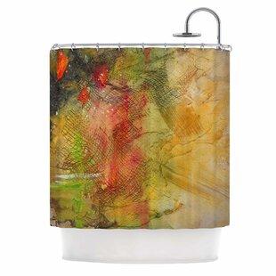 Reviews Poppy Field by Carol Schiff Shower Curtain ByEast Urban Home