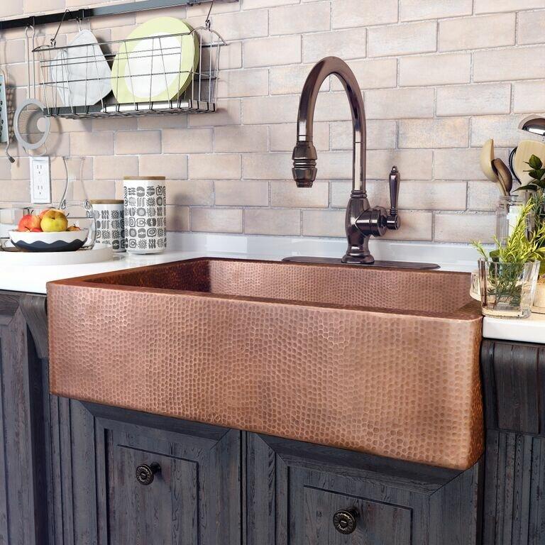 Apron Front Kitchen Sinks Kohler Regarding White Farmhouse Sink For Apron  Sink White Decorating ...