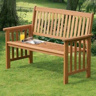 Camillion 2 Seater Wood Bench Image