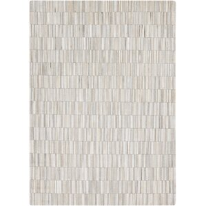 harvey white medium gray area rug