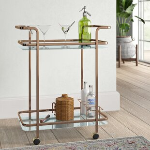 Tongouin Serving Bar Cart by Mistana