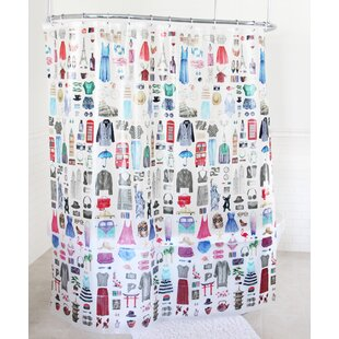 Chacon Travel Glamour Shower Curtain
