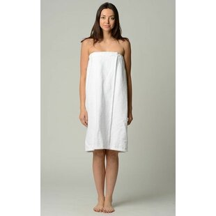 Cadiz for Women 100% Cotton Terry Cloth Bath Wrap