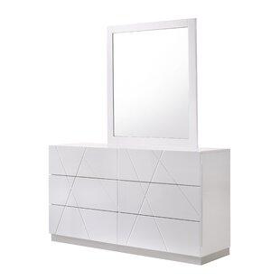 Modern & Contemporary Modern Bedroom Dressers | AllModern