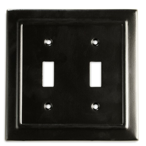 Monarch Abode Architectural 2 Gang Toggle Light Switch Wall Plate Reviews Wayfair