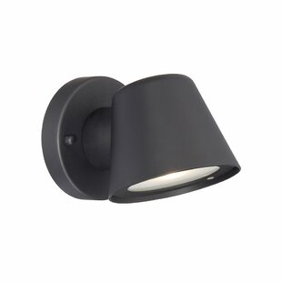 Inexpensive Santo 1-Light Outdoor Sconce By Latitude Run