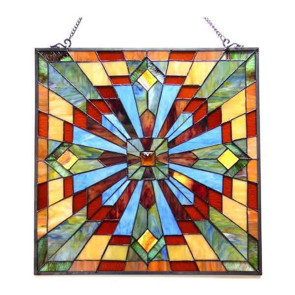 Astoria Grand Stained Glass Window Panel Reviews Wayfair