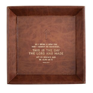 Comparison Handsome This Is The Day Psalms 118:24 Accessory Tray By CB Gift