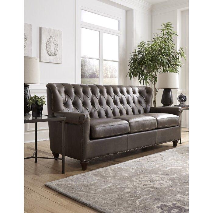 Beatson Genuine Leather Sofa