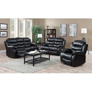 Palos 3 Piece Reclining Living Room Set