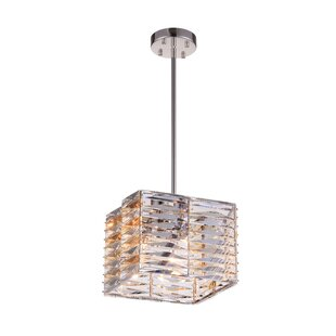 CWI Lighting Squill 4-Light Crystal Pendant