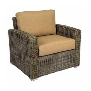 Woodard Bay Shore Patio Chair with Cushions