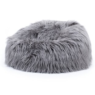 Faux Fur Bean Bag Chair By Isabelline