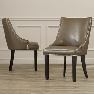 Asuncion Upholstered Dining Chair (Set of 2) House of Hampton