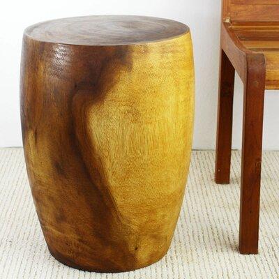 Aaliyah Mango Merlot Twist End Table Color: Oak by Langley Street