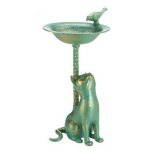Zingz & Thingz Cat Birdbath