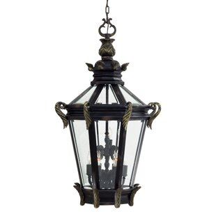 Great Outdoors by Minka Stratford Hall 9-Light Outdoor Hanging Lantern