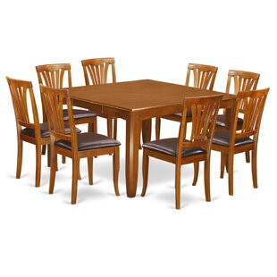Parfait 9 Piece Extendable Dining Set by Wooden Importers Great Reviews