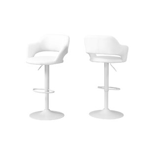Iva Adjustable Height Swivel Bar Stool by..