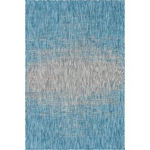 Datto Blue/Gray Indoor/Outdoor Area Rug
