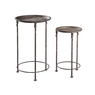 Rader 2 Piece Nesting Tables by August Grove