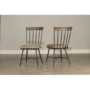 Bonella Upholstered Dining Chair (Set of 2) August Grove