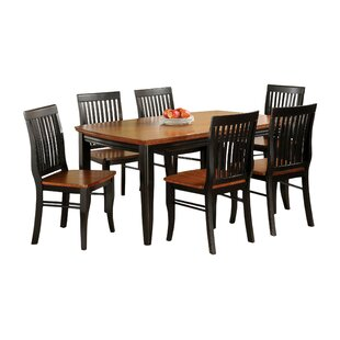 Pedrina 7 Piece Dining Set Hokku Designs