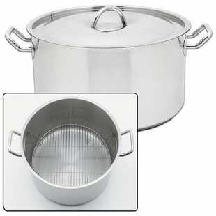 Precise Heat 42 Quart Stock Pot with Lid