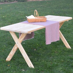 Rosendale Pine Cross-leg Picnic Table