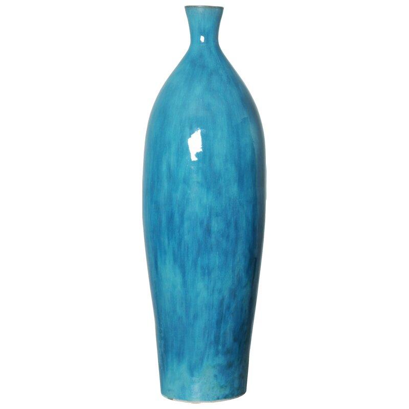 Rosecliff Heights Lobel Large Floor Vase Wayfair