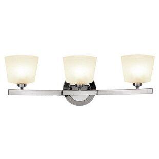 Ebern Designs Ferragamo 3-Light Vanity Light