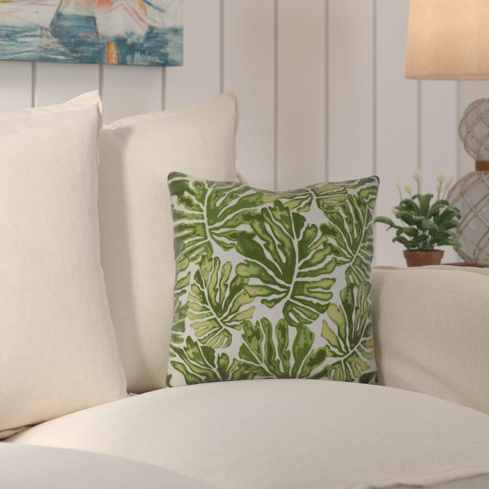 Brilliant Thirlby Palm Leaves Outdoor Throw Pillow Ocoug Best Dining Table And Chair Ideas Images Ocougorg