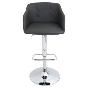 Bower Adjustable Height Swivel Bar Stool ..