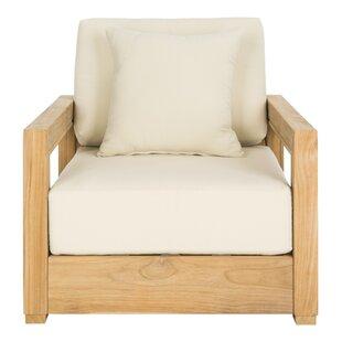 lakeland teak patio chair with cushions - Patio Chair