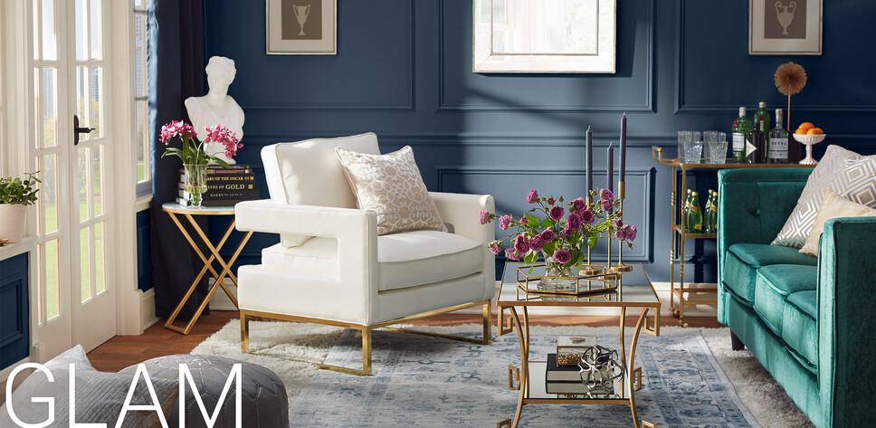 Glam Furniture & Decor | Joss & Main on