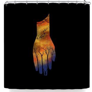 East Urban Home BarmalisiRTB Natural Hand Shower Curtain
