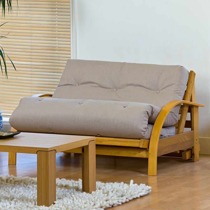 Kyoto newyork futon sofa reviews wayfaircouk for Futon sofa bed reviews
