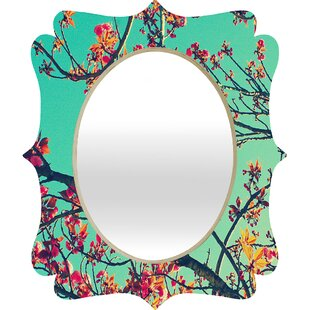 Shannon Clark Summer Bloom Accent Mirror by Deny Designs