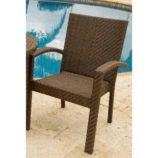 Andover Mills Ferraro Stacking Patio Dining Chair