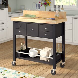 Red Barrel Studio Iron Horse Kitchen Island