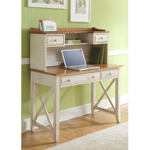 Beachcrest Home Bridgeview 2 Piece Desk Office Suite