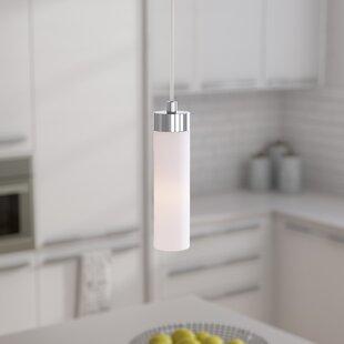Fatima 1-Light Cylinder Pendant