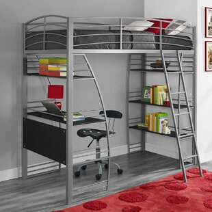 Compare & Buy Kronos Twin Loft Bed by Viv + Rae Reviews (2019) & Buyer's Guide